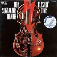 DON SUGARCANE HARRIS - Flashin? time - LP